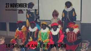 Sinterklaasfeest voor de Kanjers en JO8