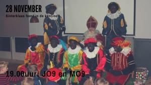 Sinterklaasfeest voor JO9 en MO9