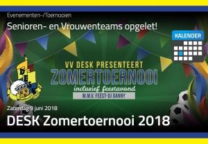 DESK Zomertoernooi 2018